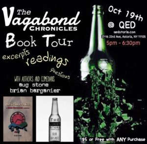 The Vagabond Chronicles Book Tour @ QED | New York | United States
