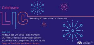 Celebrate LIC @ LIC Flea & Food and Plaxall Gallery   New York   United States