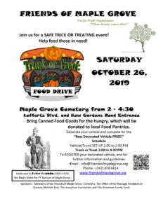 Trunk or Treat Fall Festival in Kew Gardens @ Maple Grove Cemetery | New York | United States