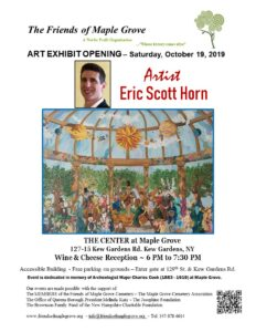 Opening Reception for Art Exhibit at Maple Grove in Kew Gardens @ The Center at Maple Grove Cemetery | New York | United States