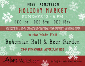 Astoria Holiday Market at Bohemian Hall & Beer Garden @ Bohemian Hall | New York | United States