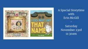 A Special Storytime with Erin McGill @ Book Culture LIC | New York | United States