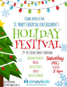 St. Mary's Holiday Festival @ St. Mary's Hospital for Children | New York | United States