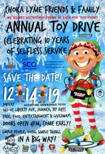 Choka Lyme Friends & Family 10th Annual Toy Drive @ Jouvay Night Club | New York | United States