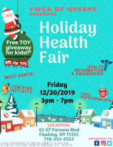 Holiday Health Fair @ YWCA of Queens | New York | United States