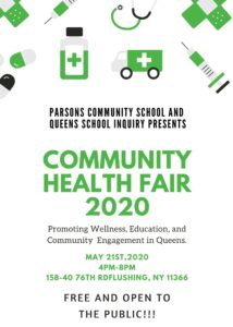 Community Fair @ Parsons Community School | New York | United States