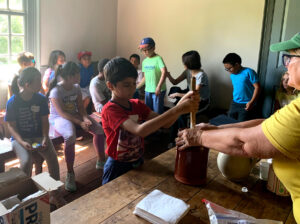 Junior Makers Staycation: Foraging, Fibers & Food @ Queens County Farm Museum | New York | United States