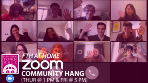 Zoom Hang for Queens artists @ Zoom
