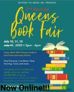 2nd Annual Queens Book Fair @ Online