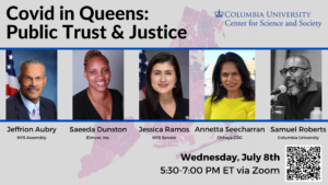 Covid in Queens: Public Trust & Justice @ Online | Sand Springs | Oklahoma | United States